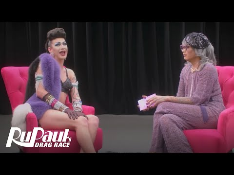 The Pit Stop w/ Raja & Violet Chachki   RuPaul's Drag Race (Season 9 Ep 9)   Now on VH1