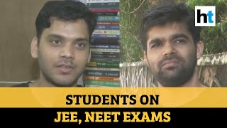 JEE, NEET update: What students feel about exams not getting postponed - Download this Video in MP3, M4A, WEBM, MP4, 3GP