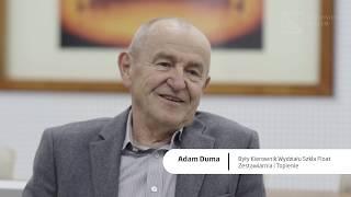 Natchnieni szkłem - historia Adama Dumy