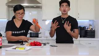 Cooking Adobo With My Mother