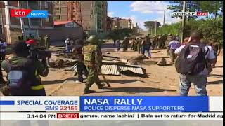 Police engage Donholm residents in running battles