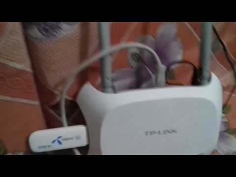 Tp link 4g router configuration setup with usb and speed test compelete tutorial in hindi urdu