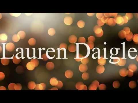 Lauren Daigle - Rescue (Lyric Video)