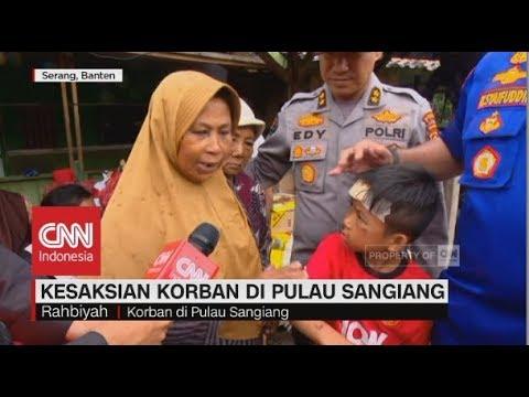 Kesaksian Korban Tsunami Selat Sunda di Pulau Sangiang