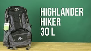 Highlander Hiker 30 / navy blue (RUC234-NB) - відео 1