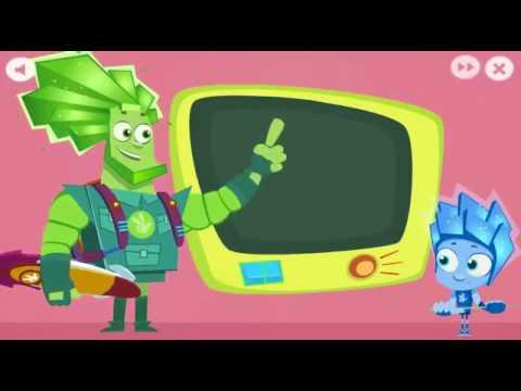 Игра Фиксики  Фиксиборд  Нолик помогает Папусу  Фиксики играть бесплатно онлайн  Игры для детей