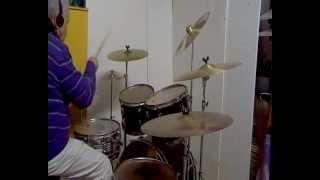 UNSUN a single touch - official video -drum cover