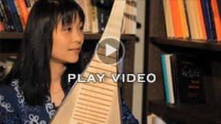 "Pipa musician Wu Man performs ""Kazakh Song"""