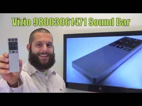 VIZIO XRS321 Sound Bar System Remote Control