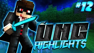 Minecraft UHC Highlights #12: Flame Swordsman
