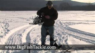 Equipment for ice fishing
