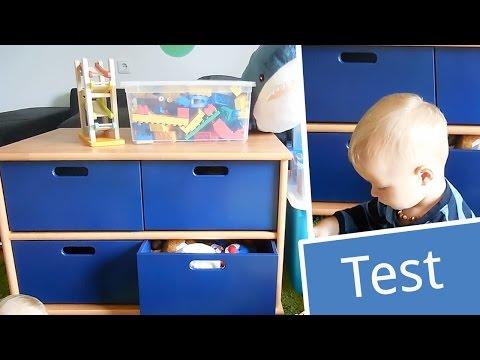 Test: Herlag Spielzeugregal Anna | Babyartikel.de