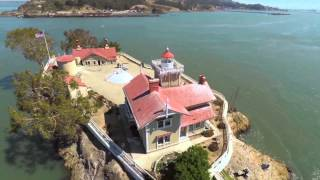 Aerial Video of East Brother Light Station