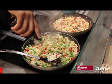 AMR Concept X NEFF - Démo culinaire innovante