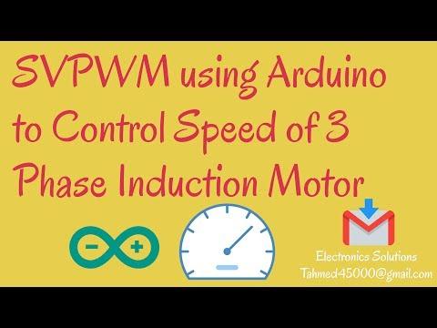 How to control a 3 phase motor using the Arduino Nano - смотреть