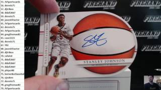 2016/17 National Treasures College Basketball Box Break Random Numbers #2 ~ 1/9/17