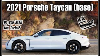 The RWD, Base Model Porsche Taycan Is The Best EV You Can Buy Under $100k - One Take by The Smoking Tire