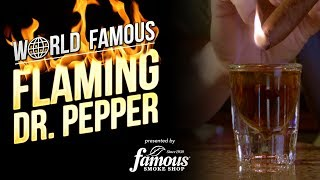 How To Make A Flaming Dr. Pepper – Recommended Cigar Pairing