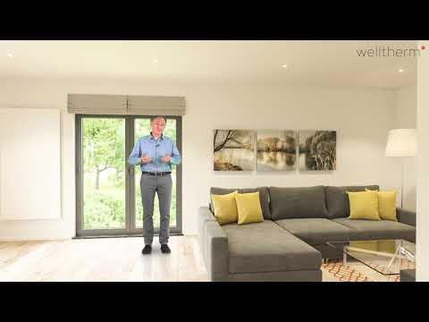 Welltherm - Infrarotheizungen im Wohnzimmer