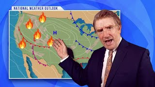 And Now For Your Weather Update... Everything's On Fire Or Underwater