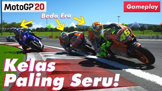 BEGINI SKILL VALENTINO ROSSI WAKTU MASIH MUDA   MotoGP 20 Historic Class (60FPS HD1080p)