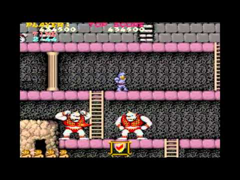 Ghosts'N Goblins / Makaimura - MAME32 - Walkthrough