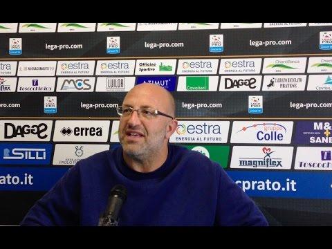 Preview video Alla vigilia della partita con la Lucchese, Roberto Malotti in conferenza stampa