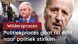 Hiddema vs Spong over politiek schijnproces Wilders