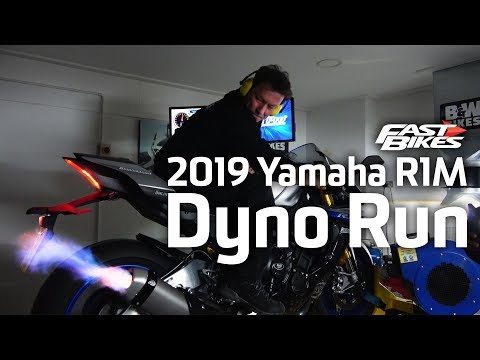 2019 Yamaha YZF R1M | Dyno Run | Ultimate Sports Bike