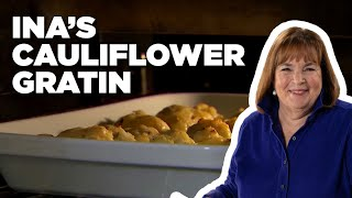 Inas Make-Ahead Cauliflower Gratin How-To | Food Network