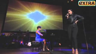 Alicia Keys and Jennifer Hudson Perform Angel