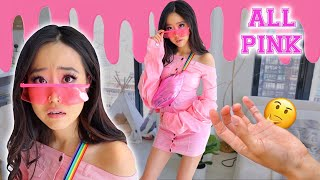 Wearing ONLY PINK Clothes | Try On Haul