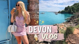 DEVON VLOG | UK SUMMER TRAVEL VLOG 2020 (Mum's Birthday, Exploring Beaches & LOTS Of Food)