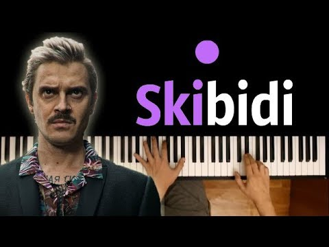 LITTLE BIG – SKIBIDI  ● караоке | PIANO_KARAOKE ● + НОТЫ & MIDI