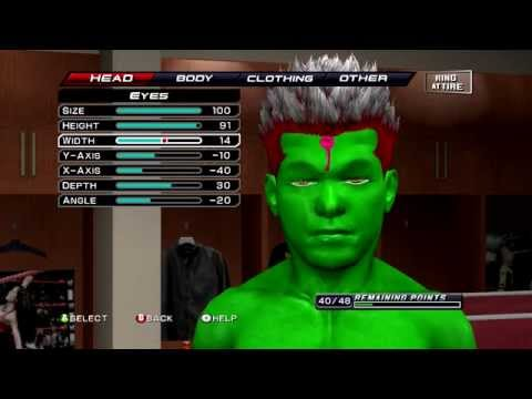 Download WWE 2k11 customizing weird characters HD Mp4 3GP Video and MP3
