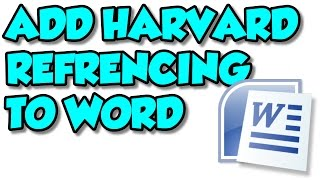 how to add harvard referencing to word 2010