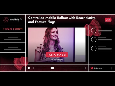 Image thumbnail for talk Controlled Mobile Rollout With React Native And Feature Flags