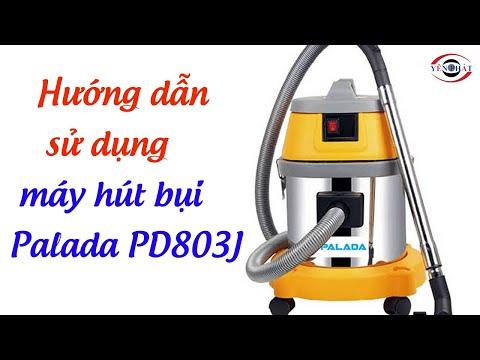 Máy hút bụi công nghiệp Palada PD803J