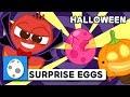NEW! SURPRISE EGGS - HALLOWEEN | LARVA KIDS | EGG SONG | SUPER BEST SONGS FOR KIDS