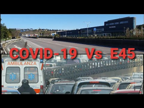 Strada E45 - ZERO AUTO ai tempi del Covid-19