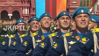 Russia: 13,000 servicemen and women march at Moscow V-Day parade
