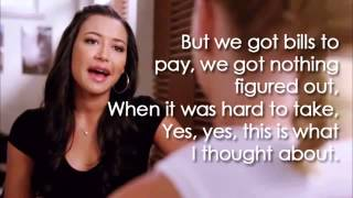 Mine (Lyrics) | GLEE