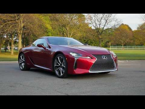 2017 Lexus LC 500h Hybrid System  | Autoblog 2018 Tech of the year WINNER