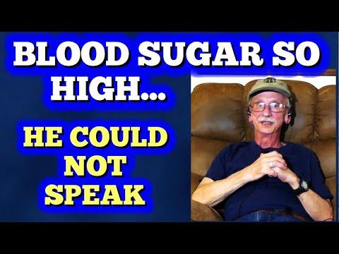Um declínio acentuado do açúcar no sangue do que