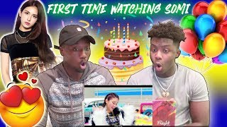 SOMI (전소미)   'BIRTHDAY' MV | REACTION