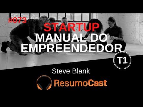 073 Startup, Manual do empreendedor, Steve Blank