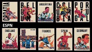 16 крутых плакатов про чемпионат мира 2018, в которых нет сборной России, но ты должен это увидеть.