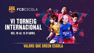 Ready for the 6th edition of the FCBEscola International Tournament