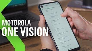 Motorola ONE VISION primeras IMPRESIONES, VUELVE la familia ONE con 48MPX y una PANTALLA PECULIAR