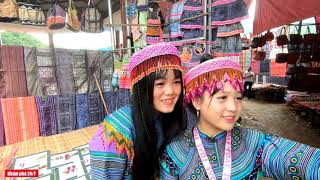 2 Cô Gái Xinh Nhất Chợ | Đi Chợ Phiên cùng - Chứ và Mủa - KP247